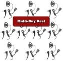 Multi-Buy offer Motorola D-ring Earpiece