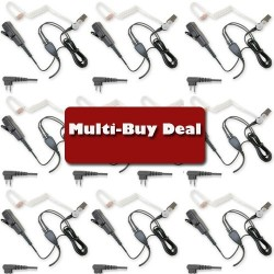 Multi-Buy offer Icom acoustic tube (Right Angle)