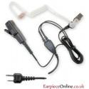 Good Quality 2-Pin Covert Icom Earpiece (Straight Pin)