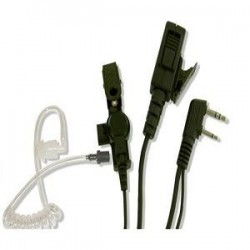 High Quality 2-Pin Covert Kenwood Earpiece