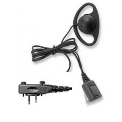 ICOM F1000/F2000 D-RING RADIO EARPIECE