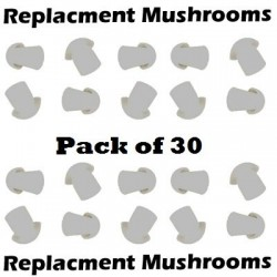 Pack of 30 Replacement Mushrooms