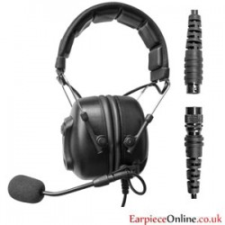 Universal Connector Two way Radio Headset