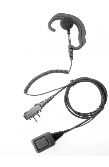 G -shaped Icom Earpiece