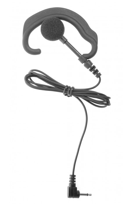 Receive only Ear-Hook Earpiece with 3.5mm connector