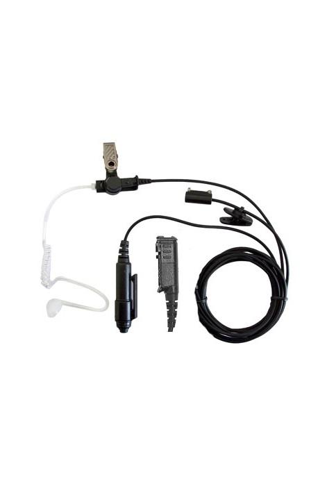 High Quality 3-wire Covert Motorola 344 Block Connector Earpiece