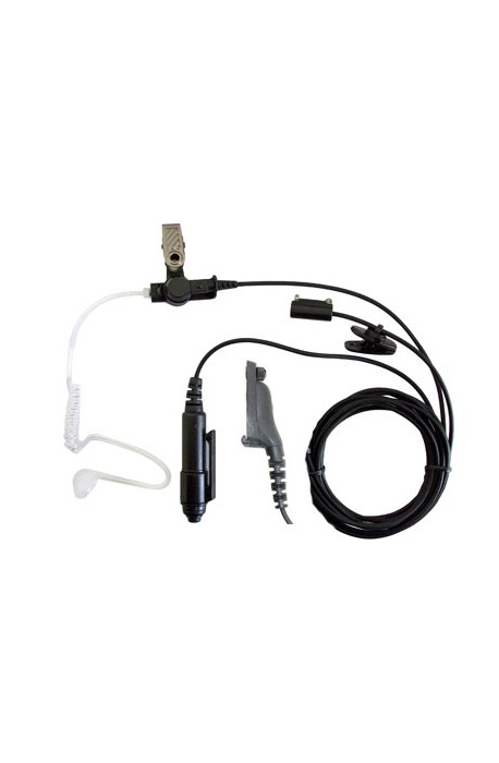 High Quality 3-wire Covert Icom 2-pin Connector Earpiece