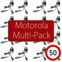 Pack of 50 Motorola 2-pin...