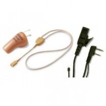 Neck Loop Inductor Earpiece + In ear wireless receiver earpiece