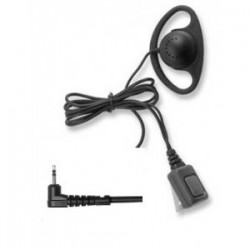 D-Ring 2-pin Covert Kenwood Earpiece