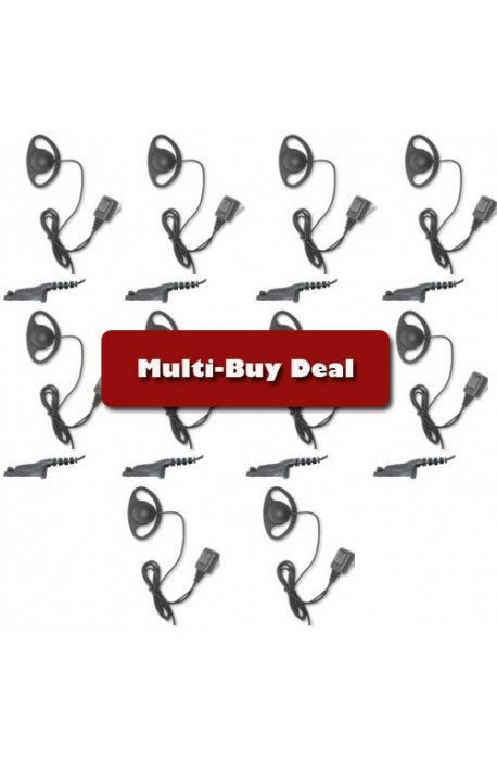 Multi-Buy offer DP3400 D-ring Earpiece