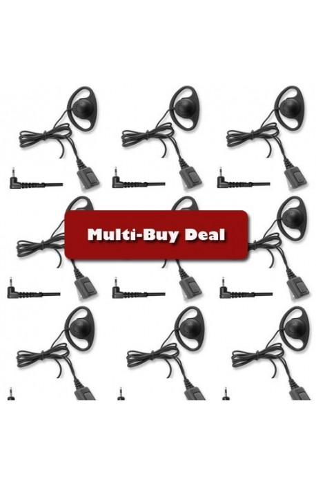 Multi-Buy offer Entel D-ring Earpiece