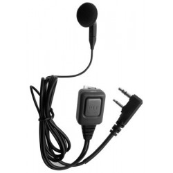 EAR-BUD EARPHONE MICROPHONE WITH PTT