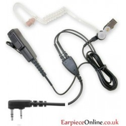 Good Quality Kenwood Covert 2-Pin Earpiece