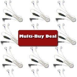WHITE EARPHONE BUD STYLE EARPIECE Kenwood Multi-Buy offer