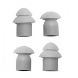 Replacement Mushrooms for the Acoustic tube Earpiece Range (pack of 4)