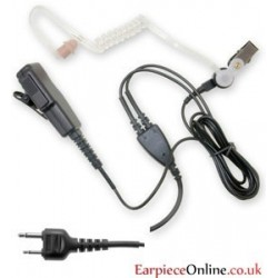 Good Quality 2-Pin Covert Icom Earpiece (Straight Pin)
