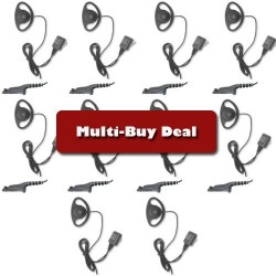 MULTI-BUY OFFER GP344 D-RING EARPIECE