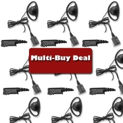 Multi-Buy offer DP2400 D-ring Earpiece