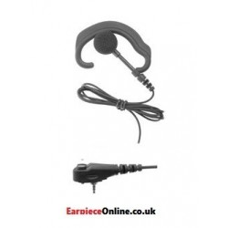 GOOD QUALITY 'RECEIVE ONLY' G SHAPED EARPIECE FOR THE MOTOROLA MTP/MTH RADIOS