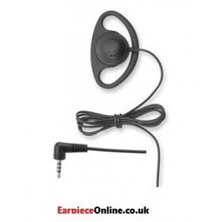 GOOD QUALITY 'RECEIVE ONLY' D-SHAPED TUBE EARPIECE FOR THE SEPURA RADIOS