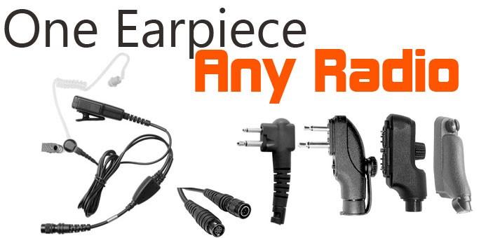 Universal earpiece