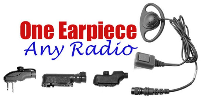 one earpiece any radio